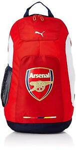 9b1d93b8c5e4 PUMA 07286501 ARSENAL GRAPHIC BACKPACK Red White Blue Mesh Out-Door ...
