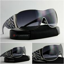 Women sunglasses vintage gray Zebra metal frame fashion designer New DG Eyewear