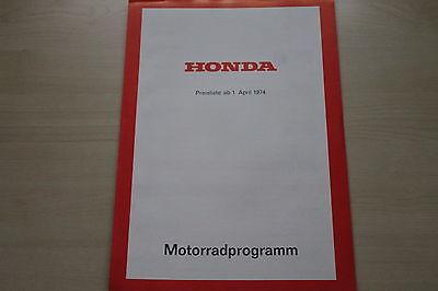 Preise & Extras Honda Monkey Dax Cb 100 250 750 171141 Den Teint Zu Erhalten Prospekt 04/1974 Verhindern Dass Haare Vergrau Werden Und Helfen