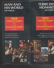 Man & His World Montreal 1967 Brochure Terre des Hommes