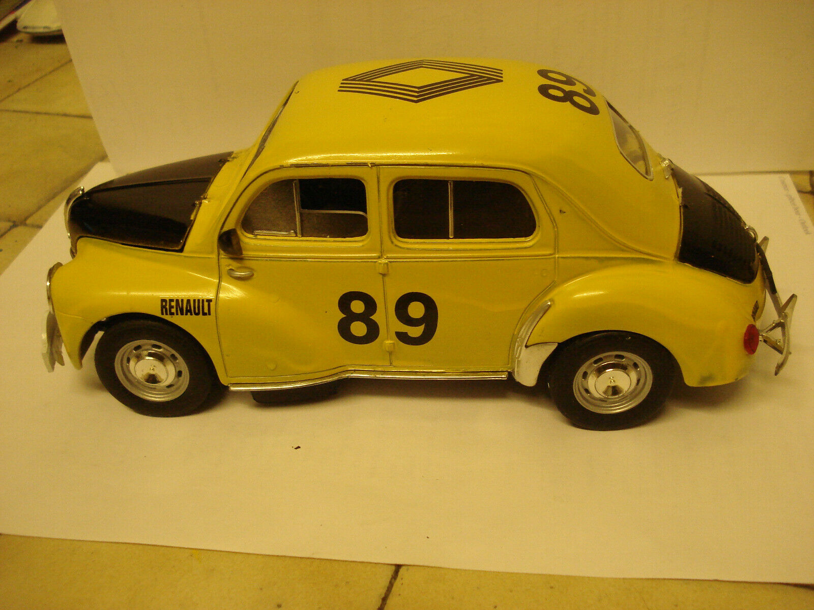 Solido  rare renault 4 cv monte voiturelo rally -  1 17 - - - tbe  marques en ligne pas cher vente