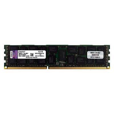 Kingston Server RAM 16GB 2x 8GB PC3-10600R ECC REG 1333 2Rx4 Memory KVR13R9D4//8I
