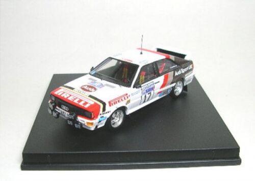 17 RAC Rally 1982 Audi Quattro No