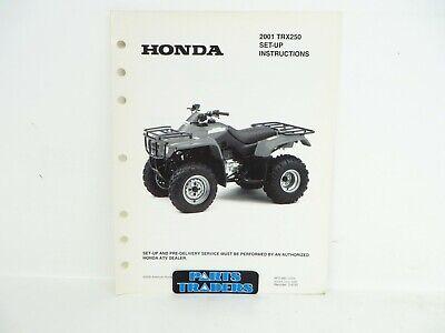 Brand New 1997-2004 Honda TRX 250 Recon ATV Complete Seat