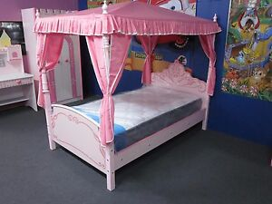 Image Is Loading KIDS GIRLS BEDS CAR THE PRINCESS CASTLE