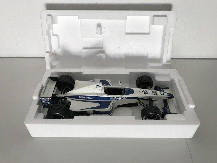 Limited 1st Edition Launch Car Williams BMW 2000 1 18 MINICHAMPS NEU - Mega RAR  | Offizielle Webseite