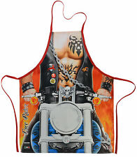 Free Rider Motorcycle Flirty Funny Novelty Apron For Men