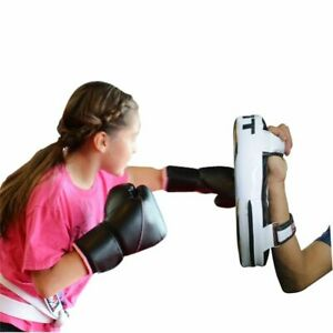 Kids-Kick-Boxing-Target-Arm-Pad-Taekwondo-Karate-Focus-Muay-Punch-Mitts-MMA