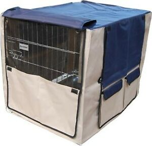 Hundekaefig-Transportbox-Kaefig-Husse-Cover-Huelle-fuer-Transportkaefig-Gr-XL-205