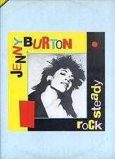 JENNY BURTON rock steady 12INCH 45 RPM HOLLAND 1983 EX