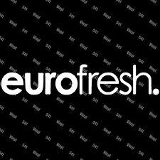 "euro fresh Vinyl 9"" Decal illest fatlace jdm sticker classy lowlife racing car"