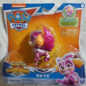 Nickelodeon Paw Patrol Mighty Pups Super Paws Skye BRAND NEW
