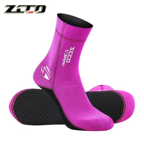 Neoprene 3MM Wetsuit Socks Non-Slip Diving Kayak Dinghy Sailing Warm Boot Sock