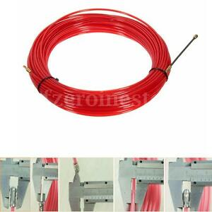 10 20 25 30m Fish Draw Tape Electrical Cable Puller Pulling