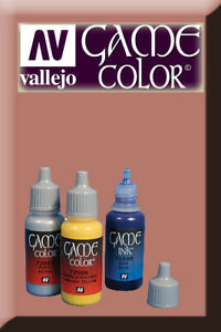 Sur De Soi Game Color Flesh Wash 73204 Vallejo Finement Traité