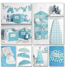 McCalls Sewing Pattern 6051 Apron, Ironing Board Cover, Organizer etc FREE POST