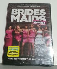Bridesmaids (DVD, 2011, Unrated/Rated) new in plastic seal