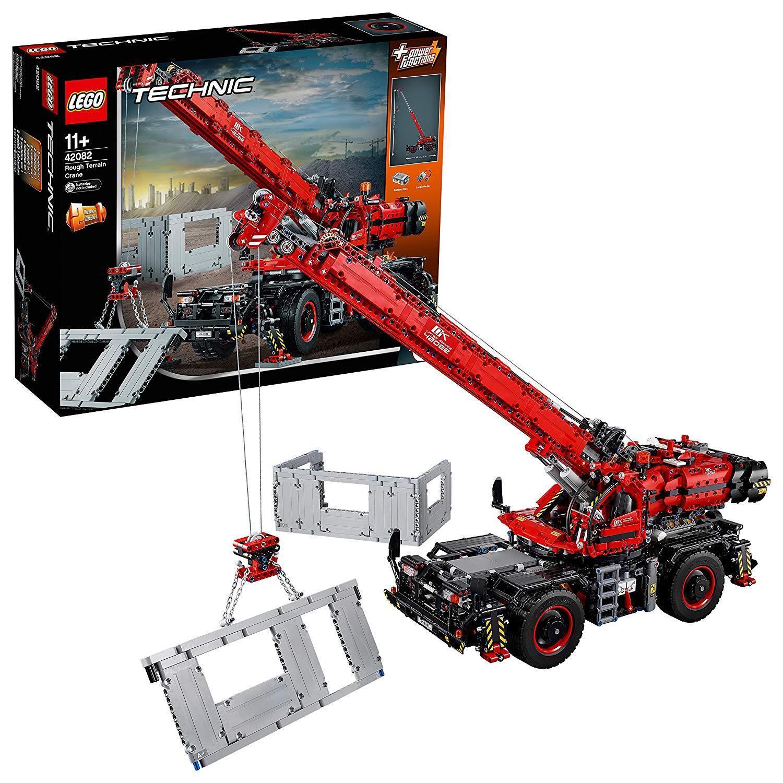 Lego  42082 Rough Terrain Crane Technic  NEW SEALED.PARCEL FORCE 48.ROTUCED