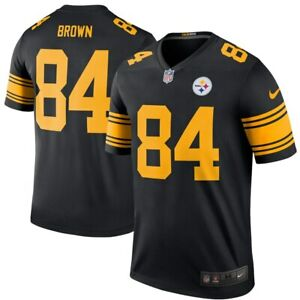 New-Nike-Pittsburgh-Steelers-Antonio-Brown-84-Color-Rush-Legend-Edition-Jersey