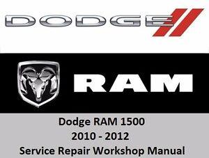 2010 ram 1500 service manual
