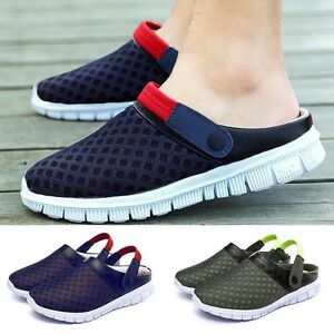 Image Is Loading Men Women Mesh Breathable Casual Beach Walking