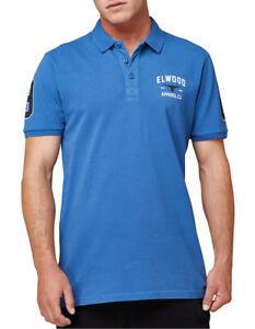 NEW Elwood Roscoe Polo Blue