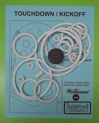 1967 Williams Touchdown Kickoff pinball super kit