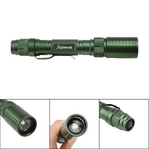 Imperméable Lampe Torche Lampe Léger 10000LM Focus Xml T6 LED Zoomable Plein