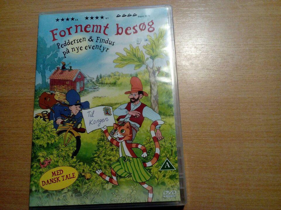 Peddersen og findus på nye eventyr fornemt besøg, DVD,