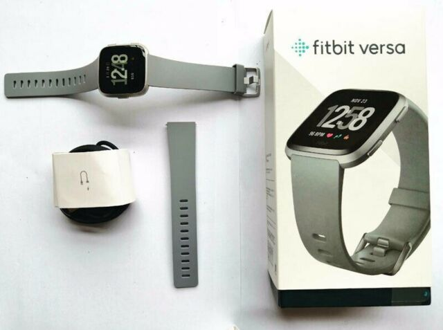 NEW Smartwatch Fitness Activity Tracker with Black Pink Silver For Fitbit Versa
