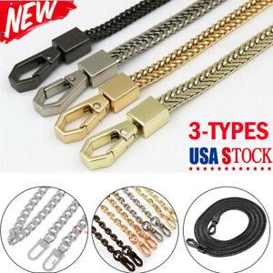 120cm-Replacement-Purse-Chain-Strap-Handle-Shoulder-Crossbody-Handbag-Bag-Metal