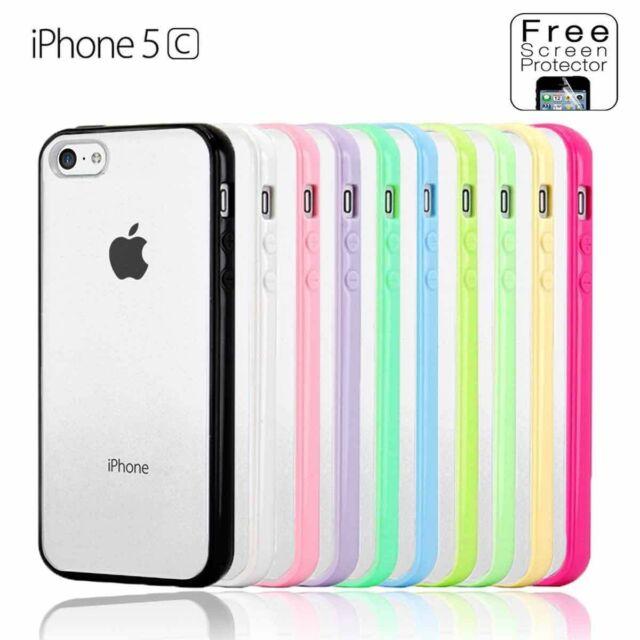 iPhone 5C PC Hard & Soft Gel Cover Case