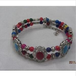 Beautiful Tibetan  Beaded Bracelet 2033av