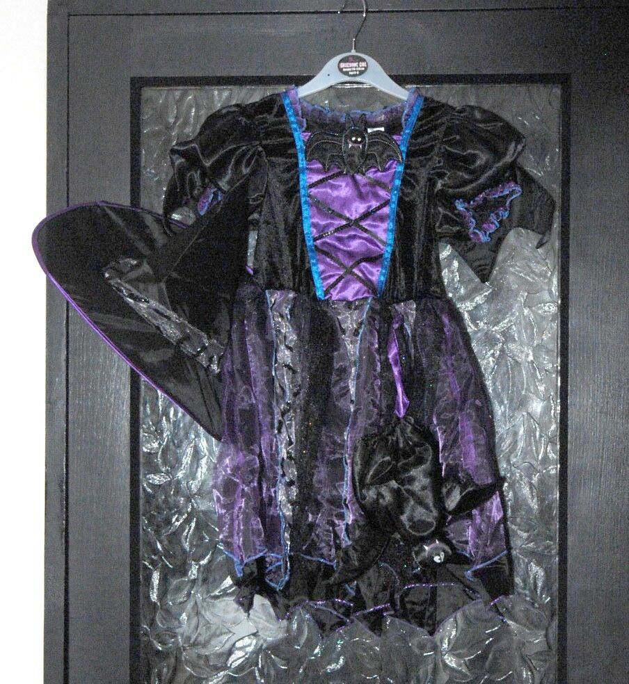 New with Tags Girls Witch Dress Up by BHS - Age 6-8yrs