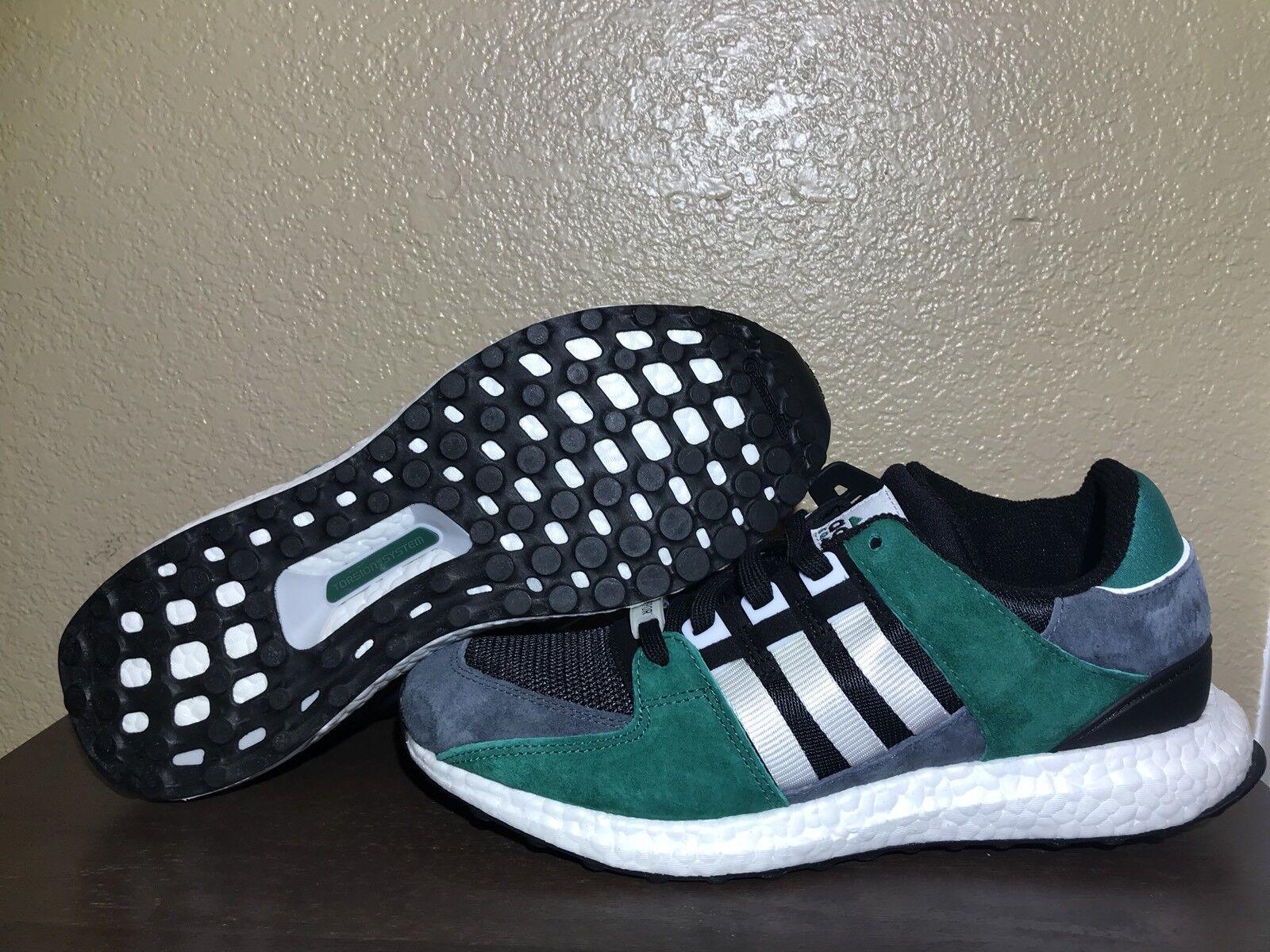 huge discount a2c7f 2f50b Adidas eqt favorevole impulso 93   17 nero       verde   bianco camoscio  cross ...