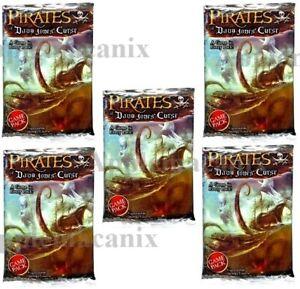 5-NEW-Wizkids-Pirates-CSG-of-Davy-Jones-Curse-Booster-Packs-Pocketmodel-Game