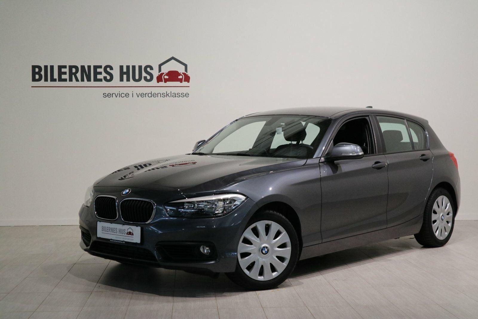 BMW 118d 2,0 aut. 5d - 255.880 kr.
