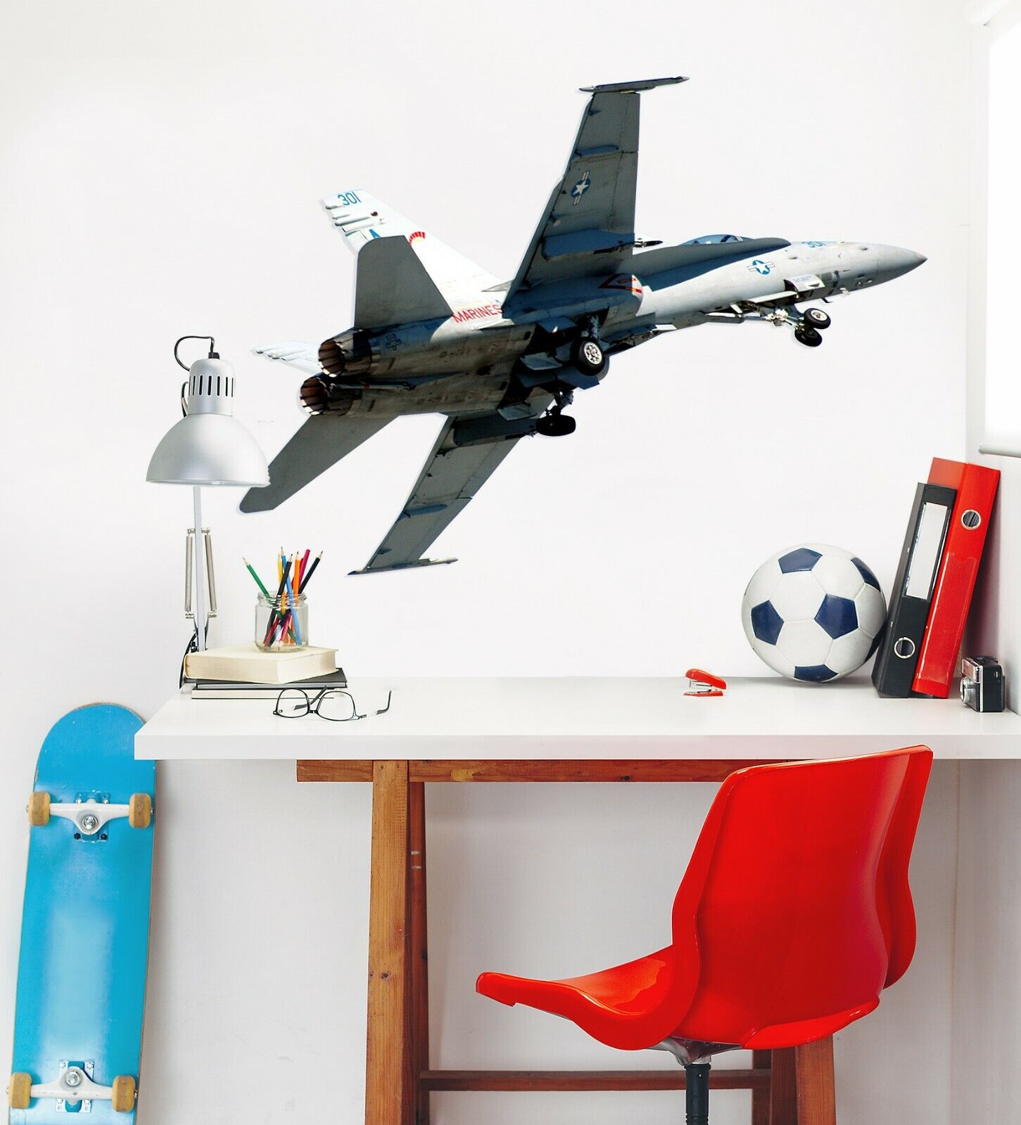 3D Flugzeuge C172 Auto WandPapier Wandbild Poster Transport Wandaufkleber Wend