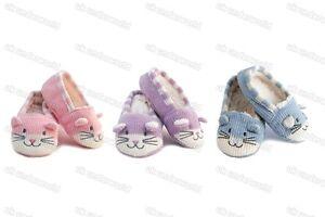 Girls Novelty Cat Slippers Childrens