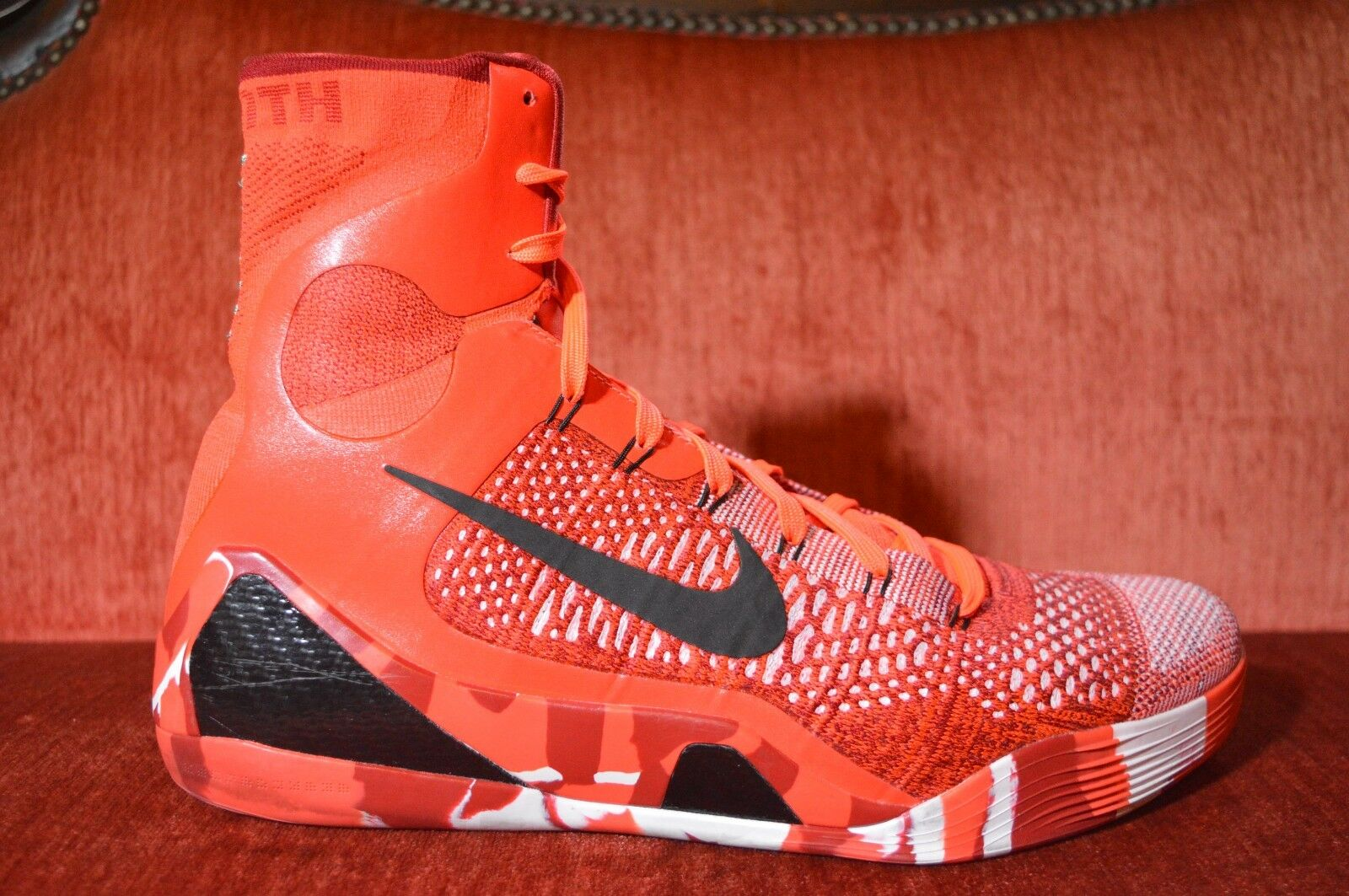 finest selection ccace 79440 Size Mens Christmas Elite IX 9 Nike TWICE WORN 14 Kobe ...