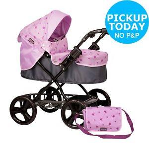 Mamas & Papas Junior Ultima Pram - Pink. 5050842355917