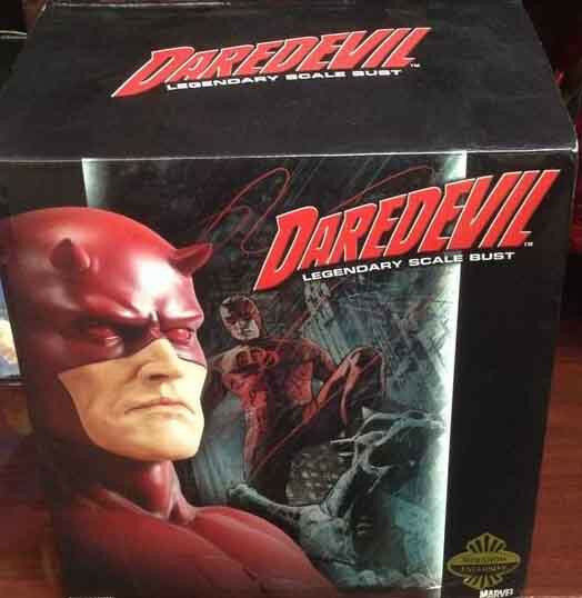 Darougeevil LEGENDARY SCALE BUST Sideshow Collectibles Marvel Comics