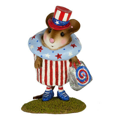 Wee Forest Folk Limited Edition M-574i - July 4th Cupcake Treat