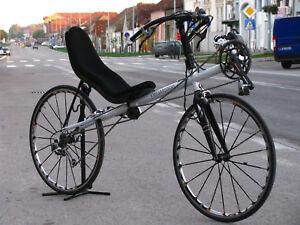 Dettagli Su Velomotion Scopa Bicicletta Nuovo Di Zecca Reclinata Telaio Set Kit Stradaaudaxghiaia Mostra Il Titolo Originale