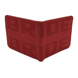 JDM Bi-Fold BRIDE Racing Wallet Red Ships Fast USA!