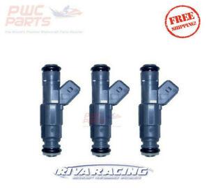 3x SeaDoo 4-TEC 215/255/260 RXT-X RXP-X 60lb.DELPHI Pro-Series Fuel Injector