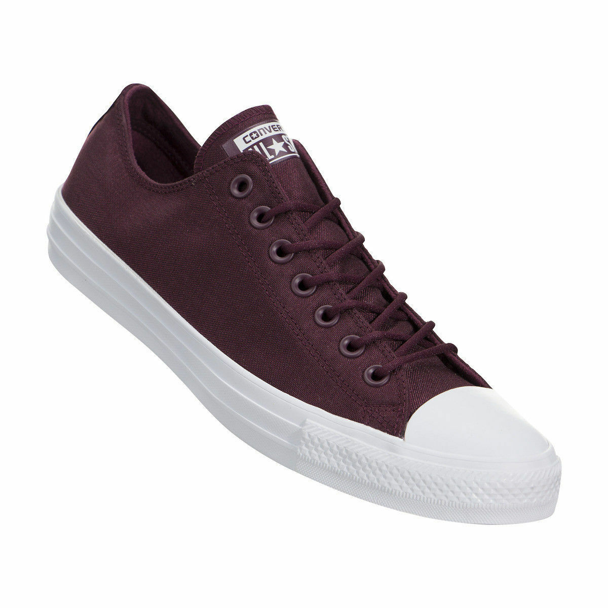 CONVERSE ALL STAR CHUCK TAYLOR LOW Uomo SHOES DARK SANGRIA 157595F SIZE 10.5 NEW