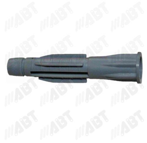 1000Stk Allzweckdübel Universaldübel GRAU mit Kragen,10 mm