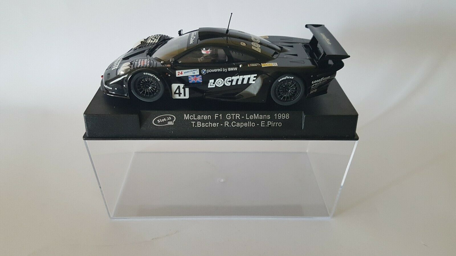 McLaren F1 GTR Slot  LeMans 1998