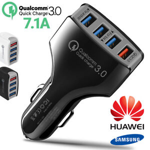 Genuine-Fast-3-0-Type-C-USB-C-Car-Charger-Charging-Cable-For-Huawei-P30-P20-Pro